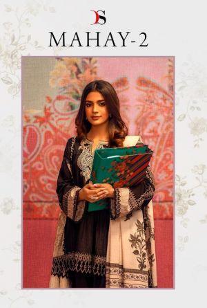 Deepsy Mahay 2 Pure Cotton Pakistani Salwar Suits