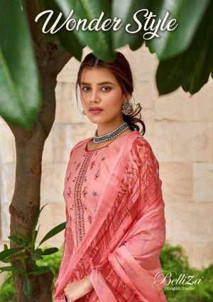 Belliza Wonder Style Pure Premium Cotton Dress Material Collection