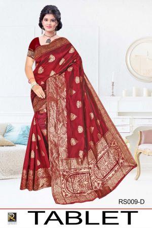 Ronisha Tablet Casual Wear Silk Saree Collection
