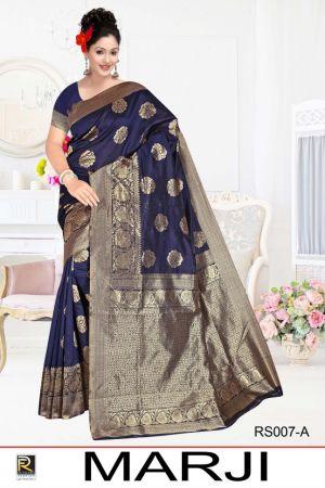 Ronisha Marji Casual Wear Silk Saree Collection