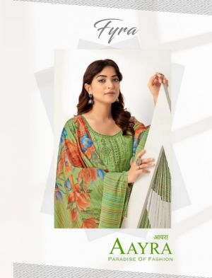 Fyra Aayra Pure Cotton Summer Collection Dress Material