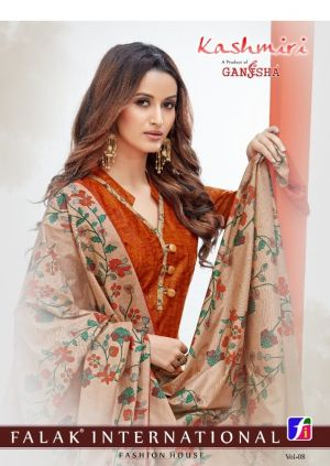 Ganesha Kashmiri 8 Regular Wear Printed Cotton Collection
