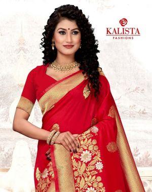 Kalista Aanchal Banarasi Silk Saree Collection