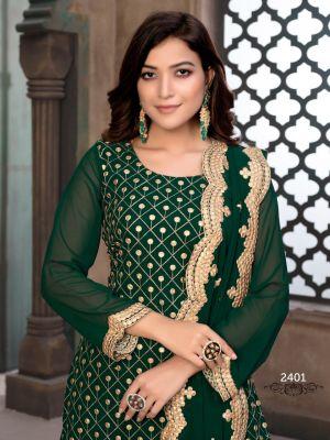 New Arrival Aanaya 124 Heavy Embroiderd Salwar Kameez