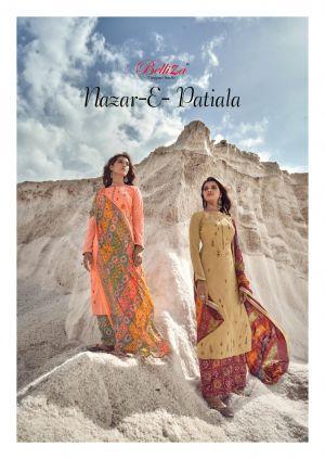 Belliza Nazar E Patiyala 8 Designer Dress Material Collection