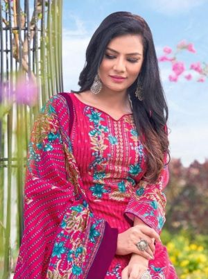 Gul Ahmed Humera 1 Pure Lawn Cotton Dress Material