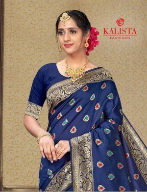 Kalista Purna 2 Banarasi Silk Saree Collection