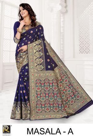 Ronisha Masala Casual Wear Silk Saree Collection