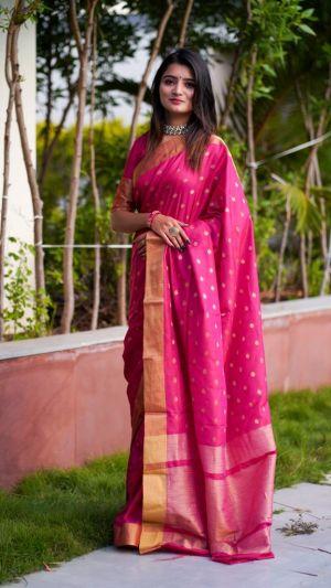 Maahi 19 Party Wear Banarasi Silk Saree Collection