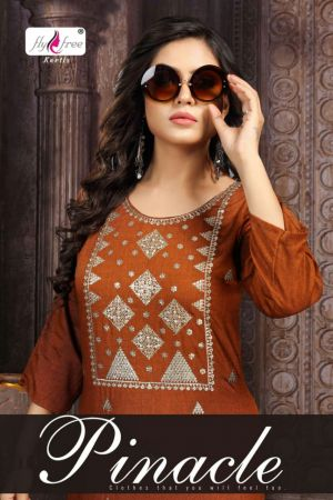 Fly Free Pinacle Ethnic Wear Designer Kurti Collection