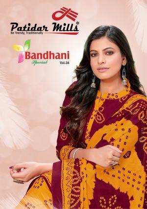 Patidar Bandhani Special 28 Printed Cotton Dress Material
