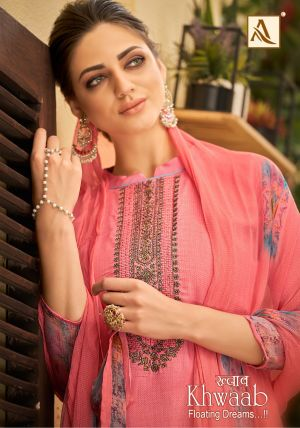 Alok Khwaab 2 Pure Jam Cotton Dress Material Collection