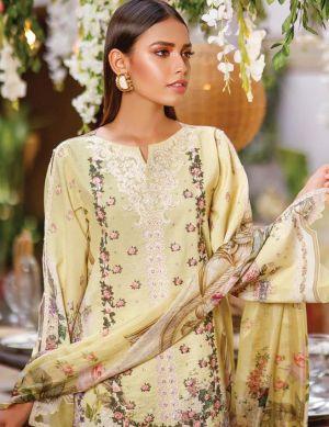 Volono Firdous 11 Pure Cotton Pakistani Salwar Kameez