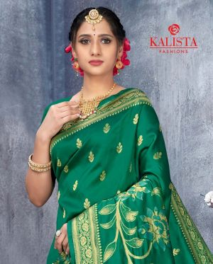 Kalista Deeksha Party Wear Banarasi Silk Saree Collection