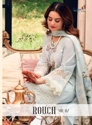 Saniya Rouch 7 Luxury Embroidery Collection