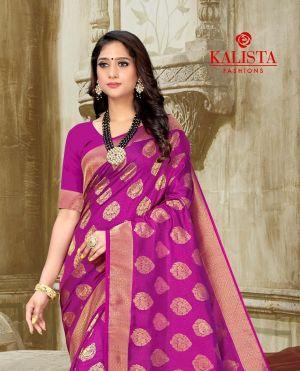 Kalista Kaira Festive Wear Banarasi Silk Saree Collection