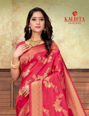 Kalista Varsha Party Wear Banarasi Silk Saree Collection