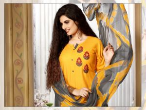 Manjeera Fashion Twitter Top With Plazzo And Naznin Duppata Collection