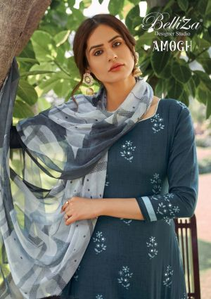 Belliza Amogh 2 Printed Designer Dress Material Collection
