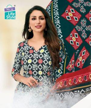 Mcm Lifestyle Padmavati Cotton Dress Material Collection