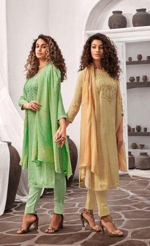 Ibiza Etalica Designer Dress Material Collection