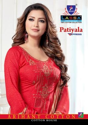 Arihant Lassa Patiyala Express Cotton Dress Material Collection