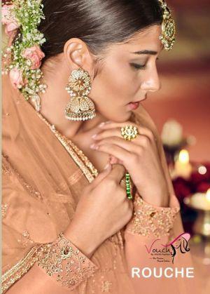 Vouch Rouche Festive Wear Embroidery Salwar Kameez Collection