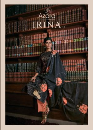 Azara Irina Nx  Zam Cotton Printed Drees Material Collection