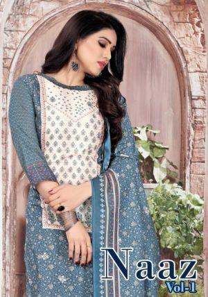 Naaz 1 Beautiful Designer Dress Material Collection