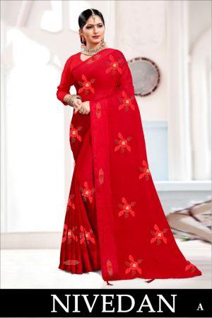 Ronisha Nivedan Festive Wear Saree Collection