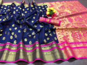 Meera 23 Party Wear Banarasi Silk Saree Collection