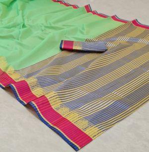 Mohini 5 Casual Wear Designer Cotton Silk Saree Collection
