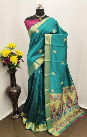 Meera 24 Party Wear Banarasi Silk Saree Collection