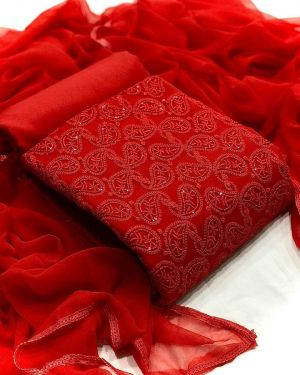 Georgette 1005 Designer Dress Material Collection