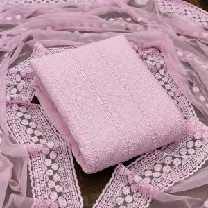 Georgette 1010 Designer Dress Material Collection