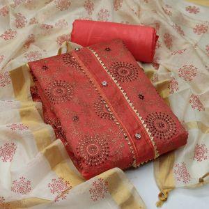 Sc 5058 Festive Wear Designer Dress Material Collection