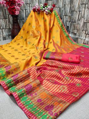Maahi 36 Party Wear Banarasi Silk Saree Collection