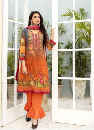 Te Karachi 1 Cotton Dress Material Collection