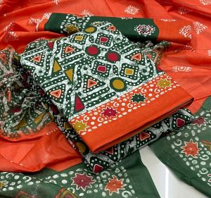 Batik Designer Suits 101 Regular Wear Drees Material