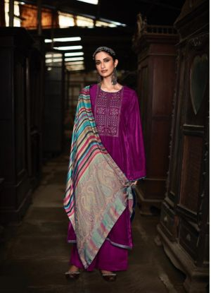 Deepsy Sahjadi Velvet Wear Pashmina Collection