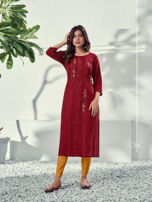 Riya Alivia Fancy Wear Designer Kurti Collection
