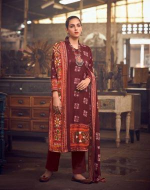 Belliza Al Marina 5 Premium Winter Wear Woollen Pashmina Collection