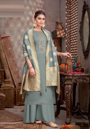 Alok Divine Touch Jam Cotton Designer Dress Material