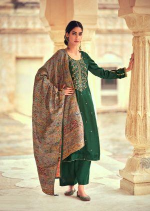 Deepsy Basera Silk Embroidery Salwar Kameez