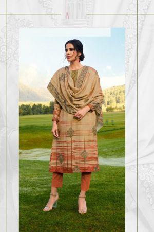 Kaara Gulkand Winter Wear Pashmina Printed Collection