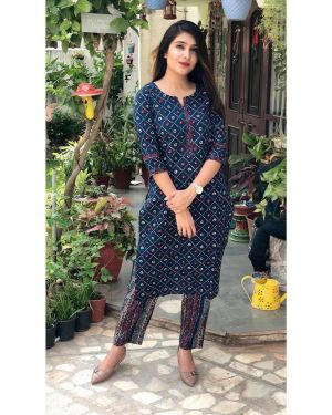 Rosey 3 Party Wear Kurti With Bottom Collection