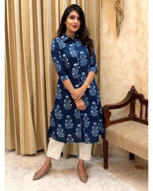 Rosey 5 Fancy Wear Kurti With Bottom Collection