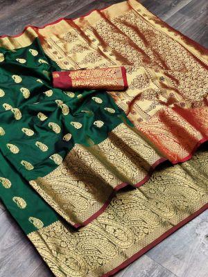 Meera 39 Party Wear Banarasi Silk Saree Collection