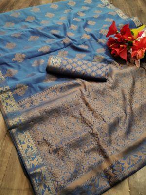 Meera 43 Party Wear Banarasi Silk Saree Collection