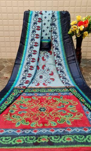 Monalisha 4 Casual Wear Printed Linen Saree Collection